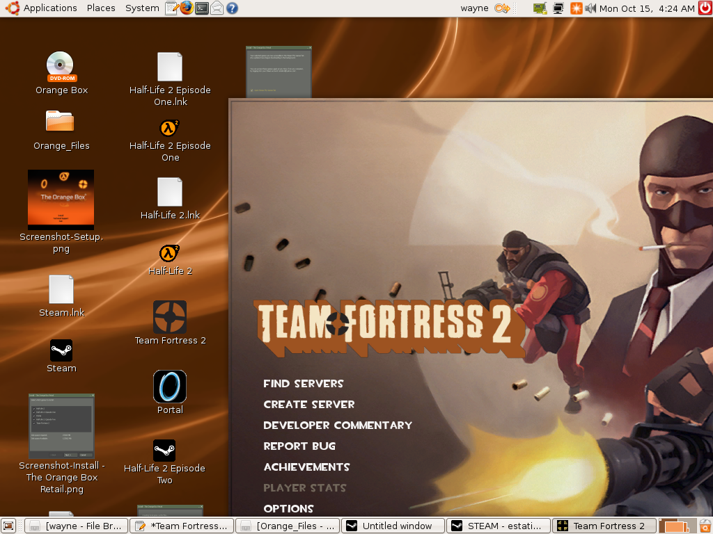 How To: Run Team Fortress 2 (TF2), Portal, Half-Life 2, HL2 EP 1&2, and Counter-Strike In Ubuntu ...