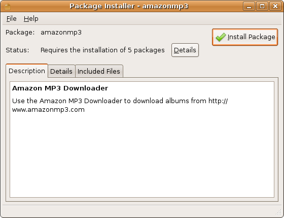 Review: Amazon MP3 Downloader for Linux   fsckin w/ linux